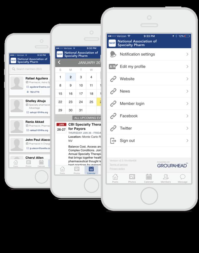 NASP Member Mobile App | NASP